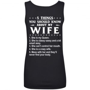 5 Things You Should Know About My wife Shirt & Sweatshirt - image 412 300x300