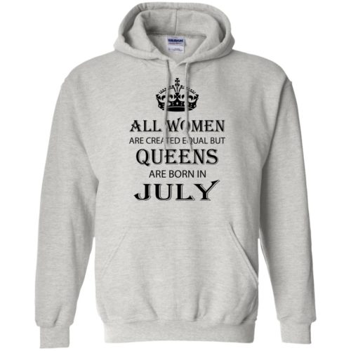 All Women are created equal but Queens are born in July shirt, tank - image 2085 500x500
