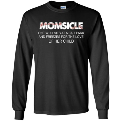 Momsicle One Who Sits At A Ballpark And Freezes shirt - image 282 500x500