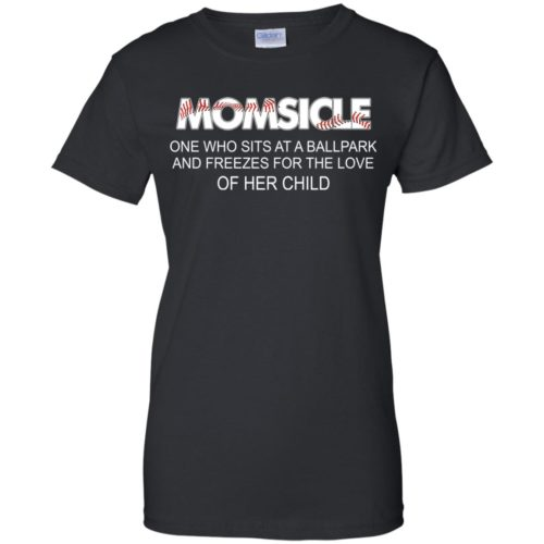 Momsicle One Who Sits At A Ballpark And Freezes shirt - image 286 500x500