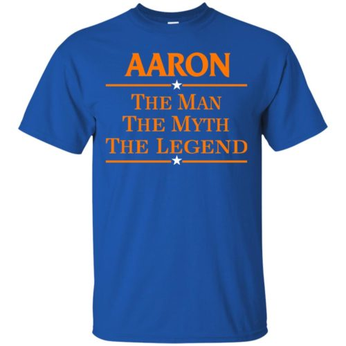 Aaron The Man The Myth The Legend Shirt - image 519 500x500