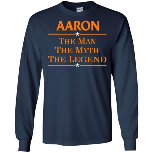 Aaron The Man The Myth The Legend Shirt - image 522 500x500