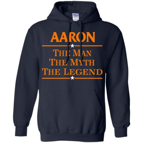 Aaron The Man The Myth The Legend Shirt - image 524 500x500