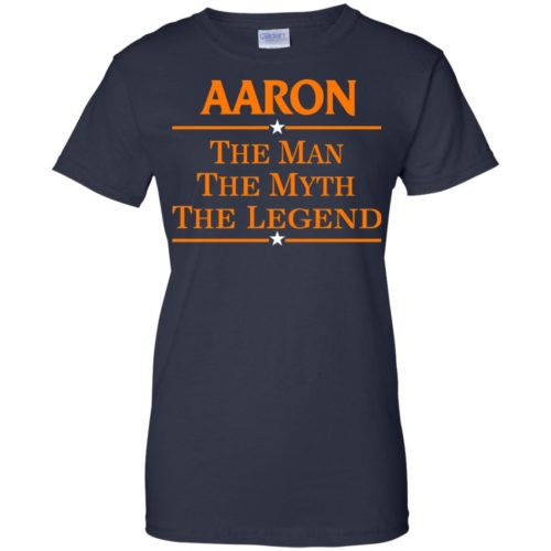 Aaron The Man The Myth The Legend Shirt - image 526 500x500