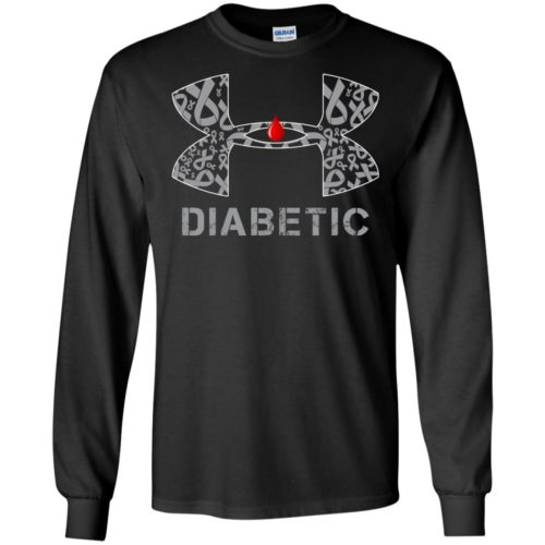 Under Armour Cancer Diabetic Shirt, Hoodie - image 630 500x500
