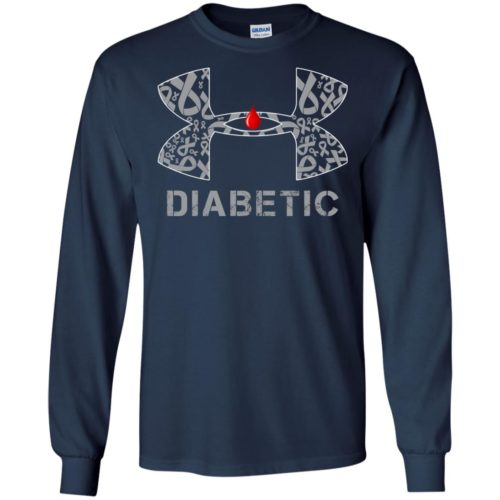 Under Armour Cancer Diabetic Shirt, Hoodie - image 631 500x500