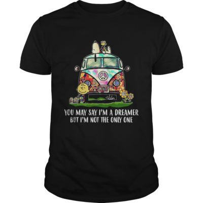 Snoopy You May Say I'm A Dreamer but I'm not the only one Shirt - Snoopy You May Say Im A Dreamer Shirt 400x400