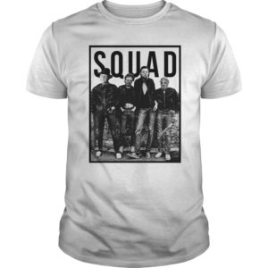 The Nightmare Ends On Halloween Squad shirt, hoodie, long sleeve - Freddy Jason Michael Myers and Leatherface Squad shirt 300x300