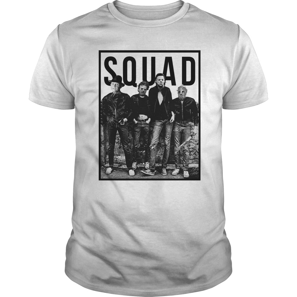 the nightmare ends on halloween squad shirt, hoodie, long sleeve