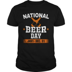 National beer day Jan 1 Dec 31 shirt - vbeer day Shirt 300x300
