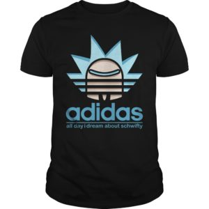 Adidas All Day I Dream About Schwifty shirt - All Day i Dream About Schwifty Shirt 300x300