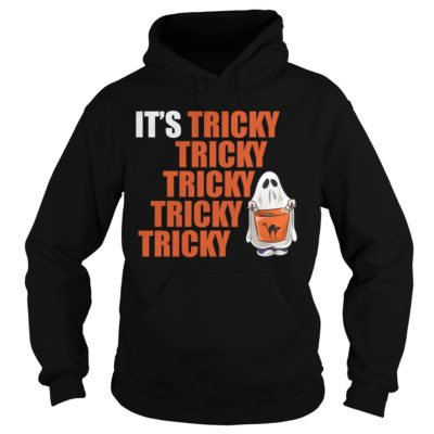 It's Tricky Tricky Tricky Tricky Tricky Halloween shirt hoodie, long sleeve - Its Tricky Tricky Tricky Tricky Tricky shi 400x400