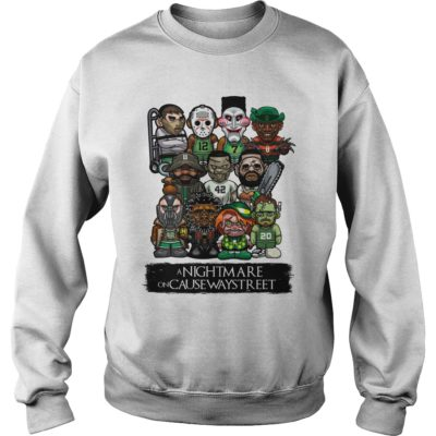 A Nightmare on Causeway street shirt, hoodie, guys tee, long sleeve - A Nightmare on Causeway street sweater 400x400