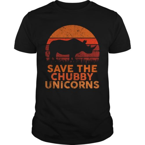 Rhinoceros Save the Chubby Unicorns shirt, hoodie, long sleeve - Save the Chubby Unicorns shirt 500x500