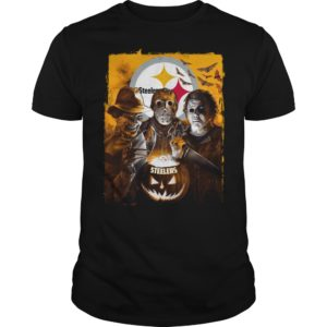 Pittsburgh Steelers Jason, Freddy and Myers Halloween shirt - Steelers Halloween shirt 300x300