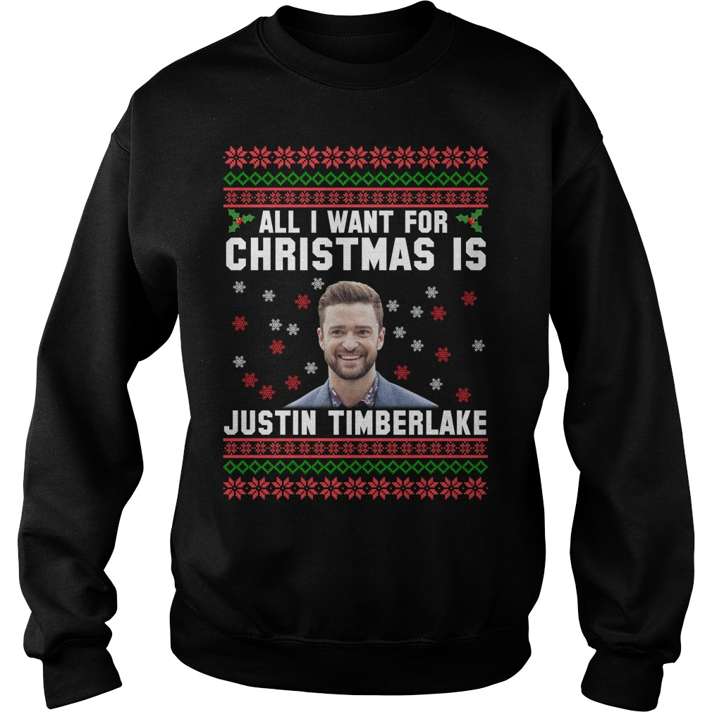 All I want for Christmas is Justin Timberlake sweater - Icestork
