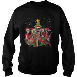 Aerosmith Caricature Christmas sweatshirt - Christmas sweatshi 300x300