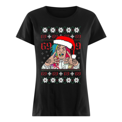 6ix9ine shirt, hoodie, long sleeve - 6ix9ine shirt women s t shirt black front 400x400