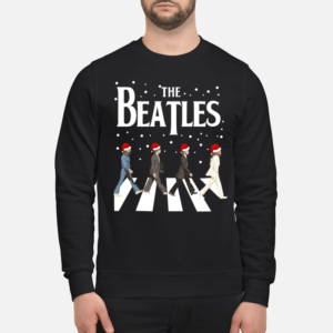 The Beatles sweatshirt - the beat sweatshirt unisex sweatshirt jet black front 1 300x300