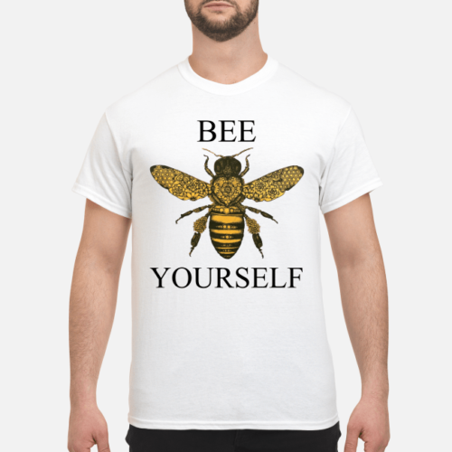 Bee your self shirt, hoodie - bee your self shirt men s t shirt white front 1 500x500