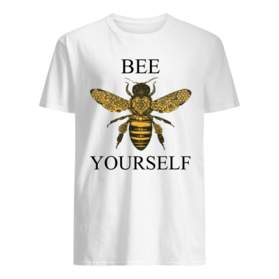 Bee your self shirt, hoodie - bee your self shirt men s t shirt white front 400x400