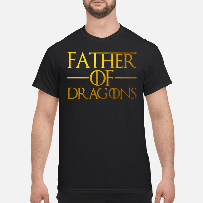 cb245ba0 Father of dragons shirt, hoodie - father of dragons shirt men s t shirt  black front