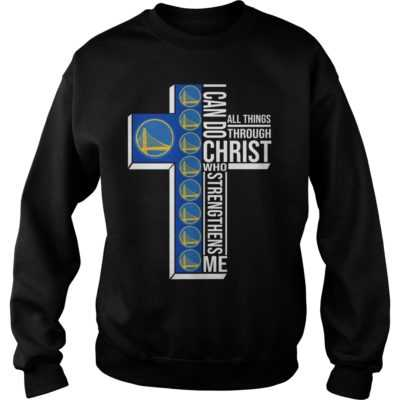 I can do all things through Christ who strengthens me Golden State Warriors shirt - I can do all things through Christ who strengthens me Golden State Warriors shi 400x400