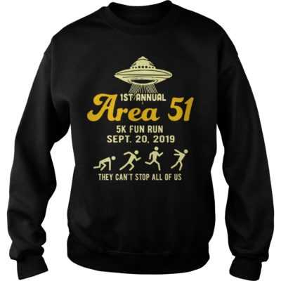 1st annual are 51 5k fun run Sept 20 2019 shirt - 1st annual are 51 5k fun run sept 20 2019 shi 400x400