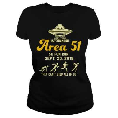 1st annual are 51 5k fun run Sept 20 2019 shirt - 1st annual are 51 5k fun run sept 20 2019 shirtv 400x400