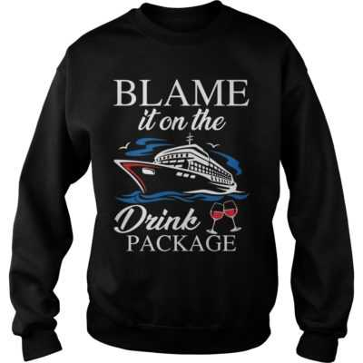 Blame it on the drink package shirt - Blame it on the drink package shi 400x400